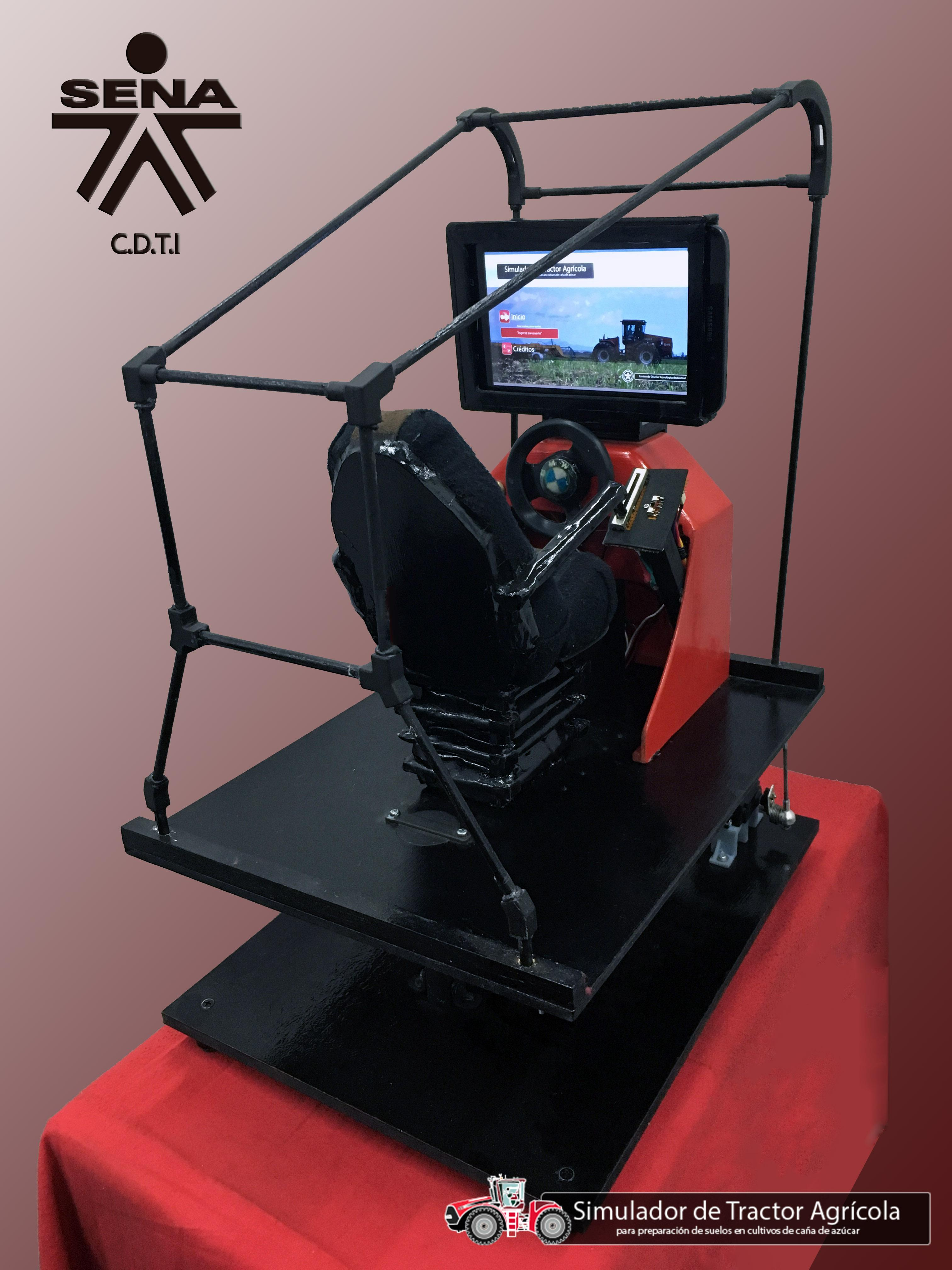 Design and Development of a Tractor Simulator as Interactive Learning Platform