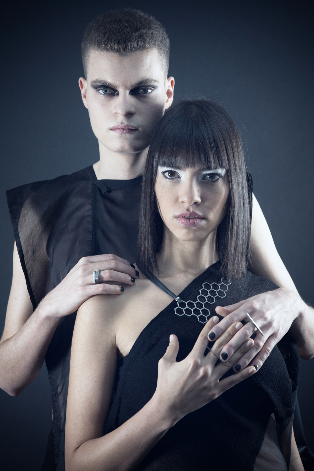 EVCLIDEAN stainless steel unisex jewelry collection