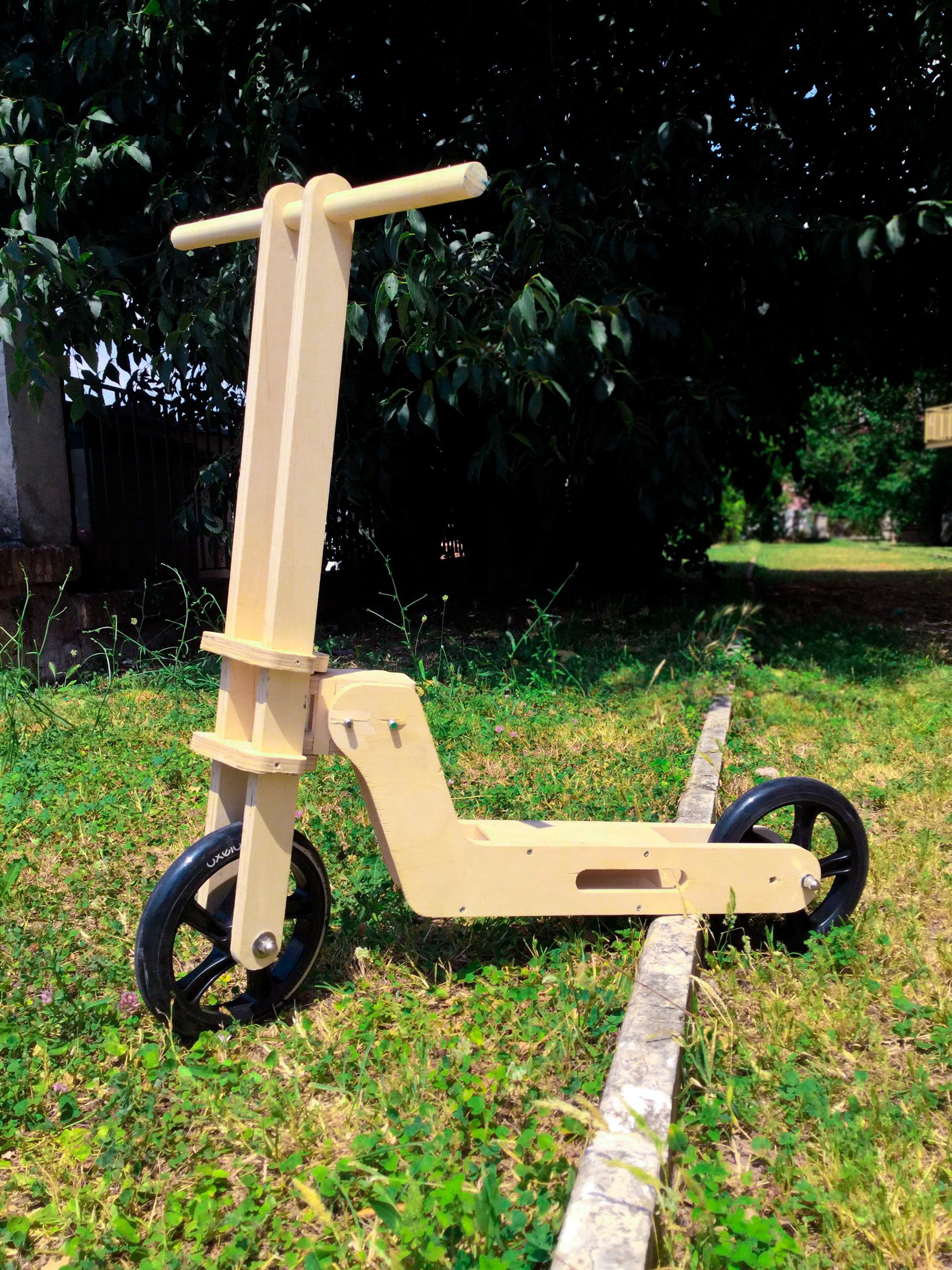 MiniMo - DIY monopattino/bici Kit