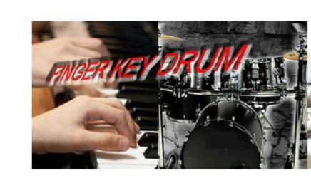 FingerKeyDrum