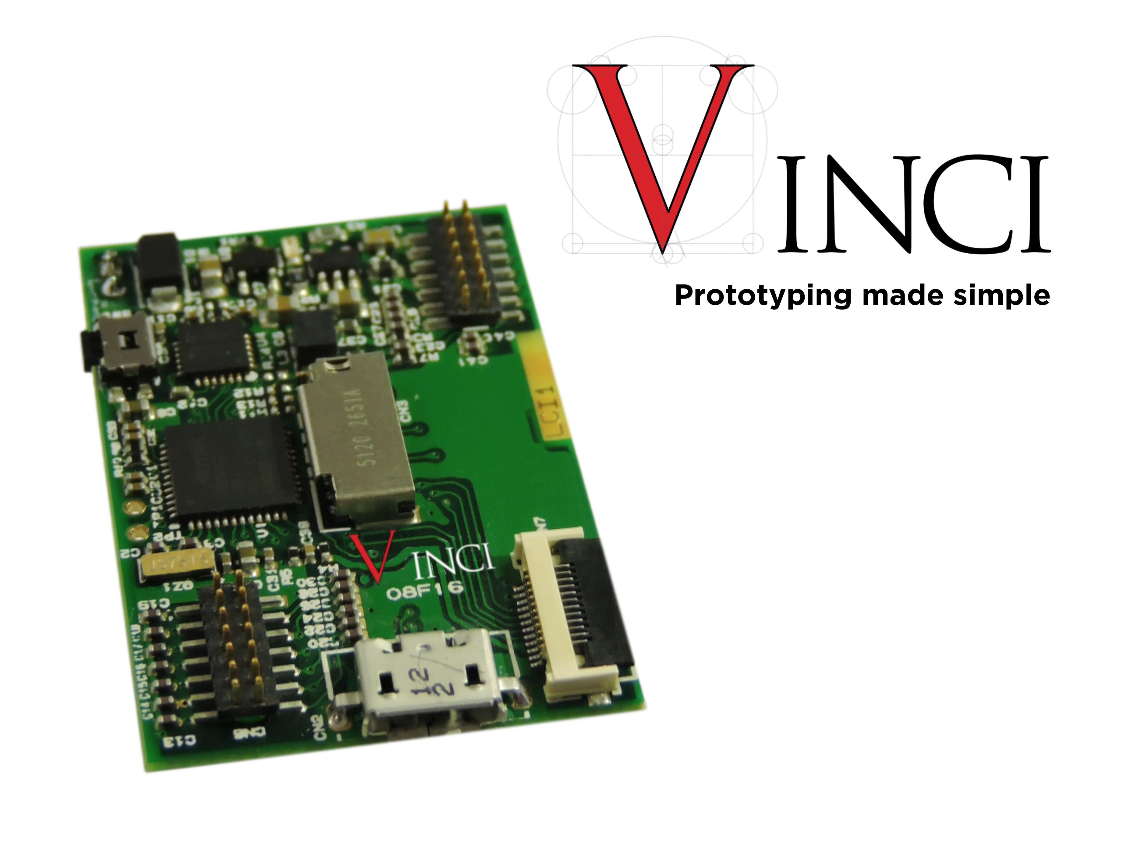 VINCI - MODULAR CORE PLATFORM FOR EMBEDDED AND WEARABLE APPLICATIONS