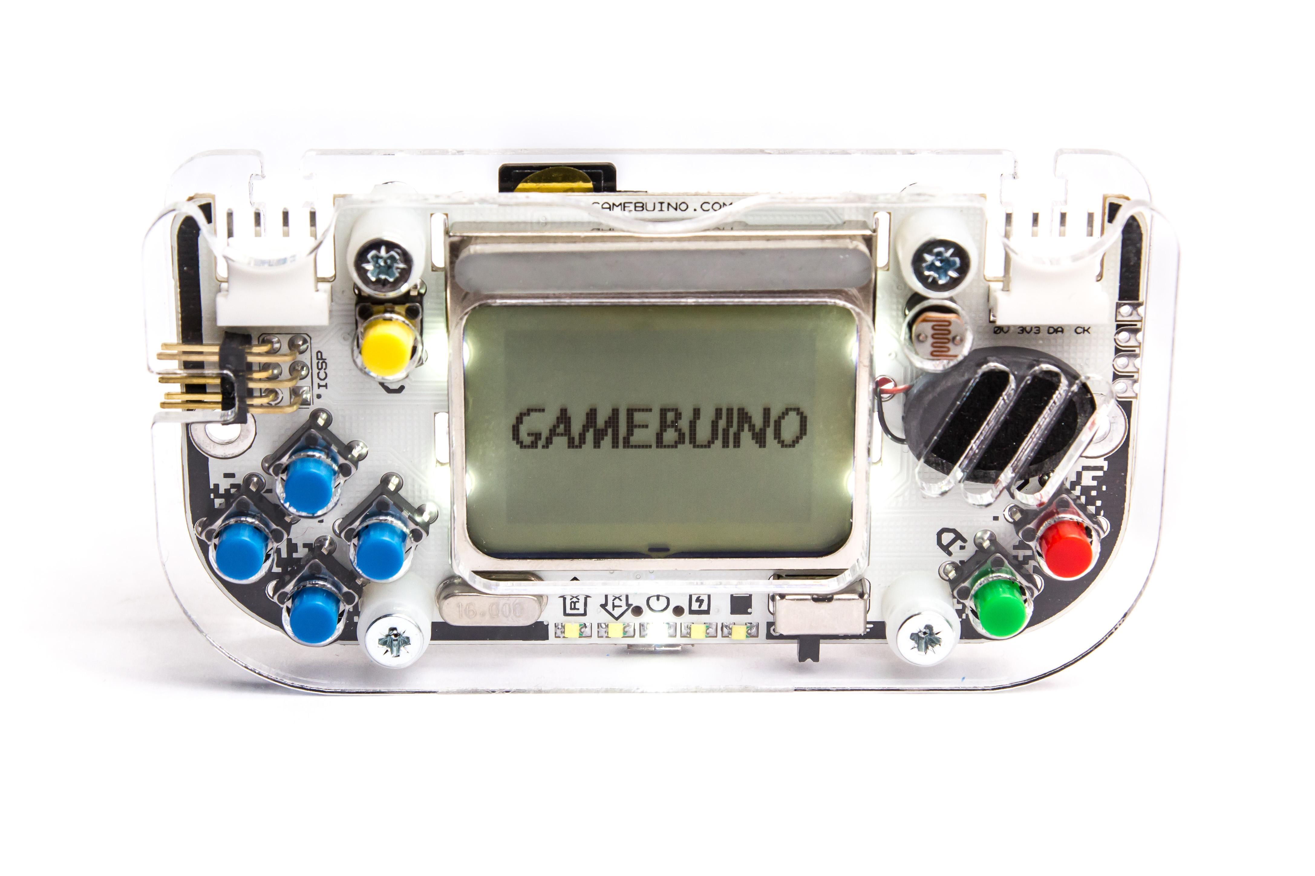 Gamebuino : play & make retro games.