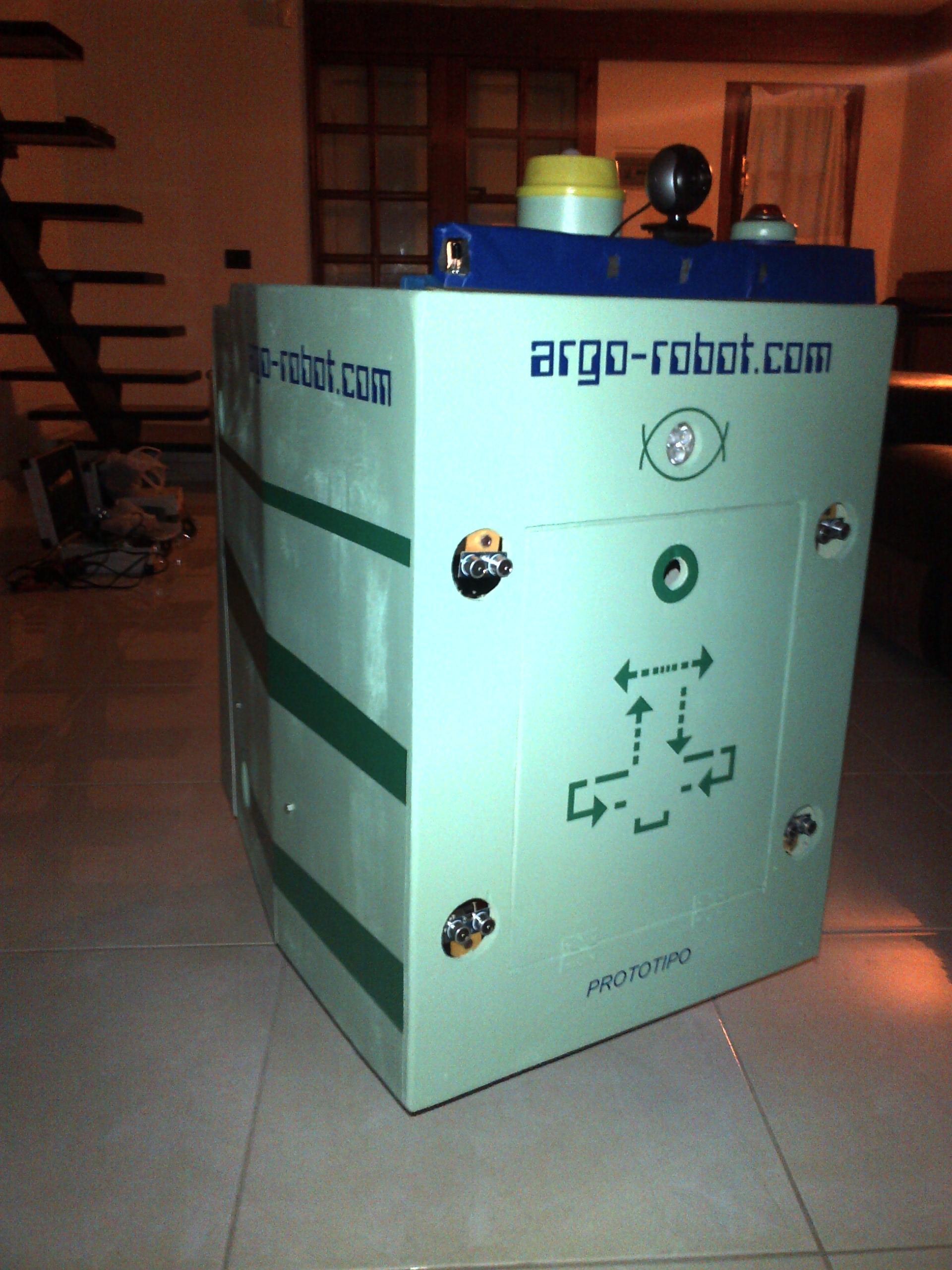 A.R.G.O. 2.0 Assistente Robotico alla Giornata Ordinaria