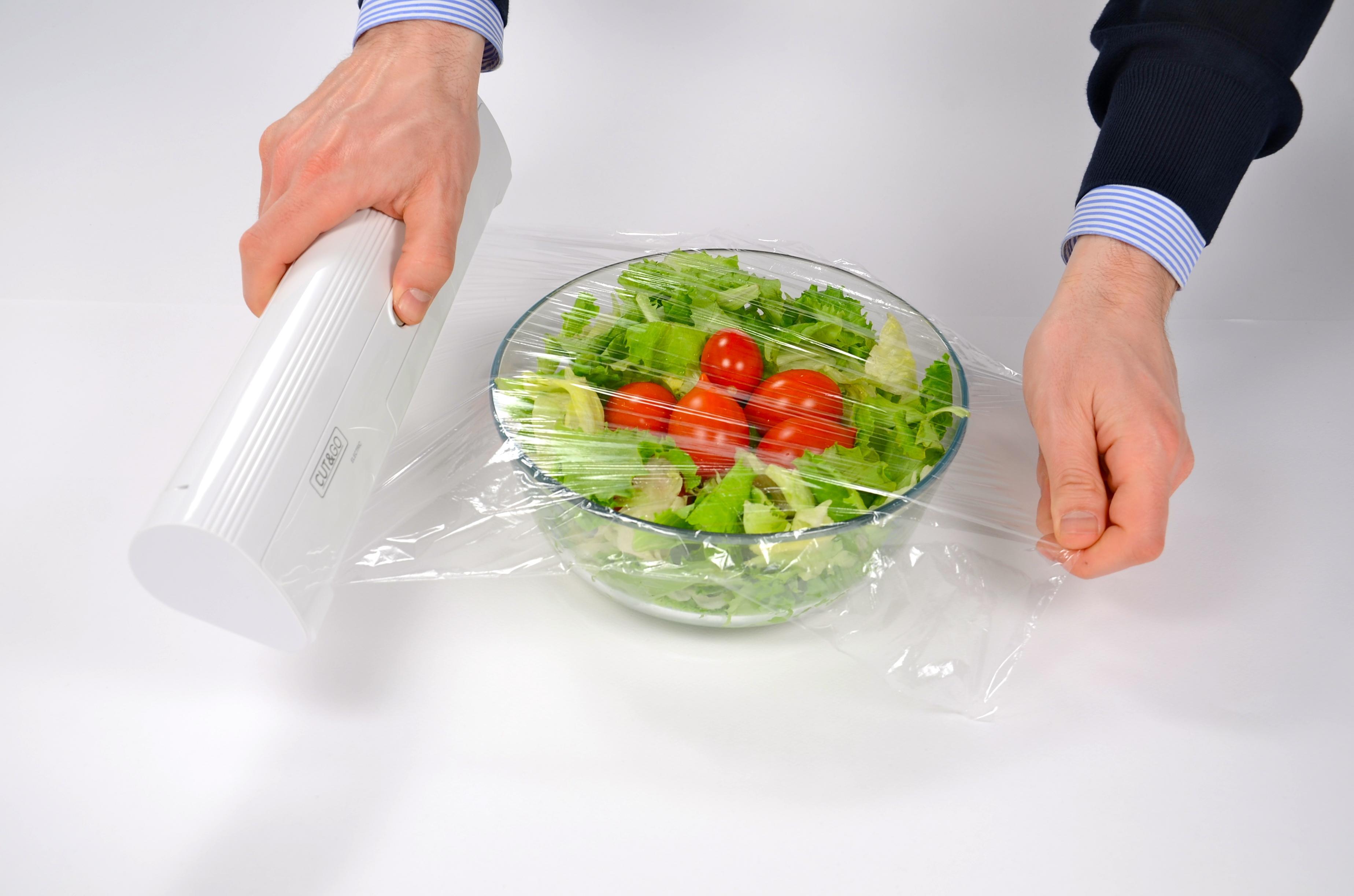 CUT&GO L'innovazione in cucina - Srotola pellicola con taglio elettrico