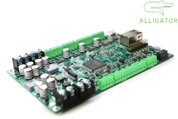ALLIGATOR BOARD – IoT MULTIEXTRUDER 3D PRINTER ELECTRONIC SOLUTION