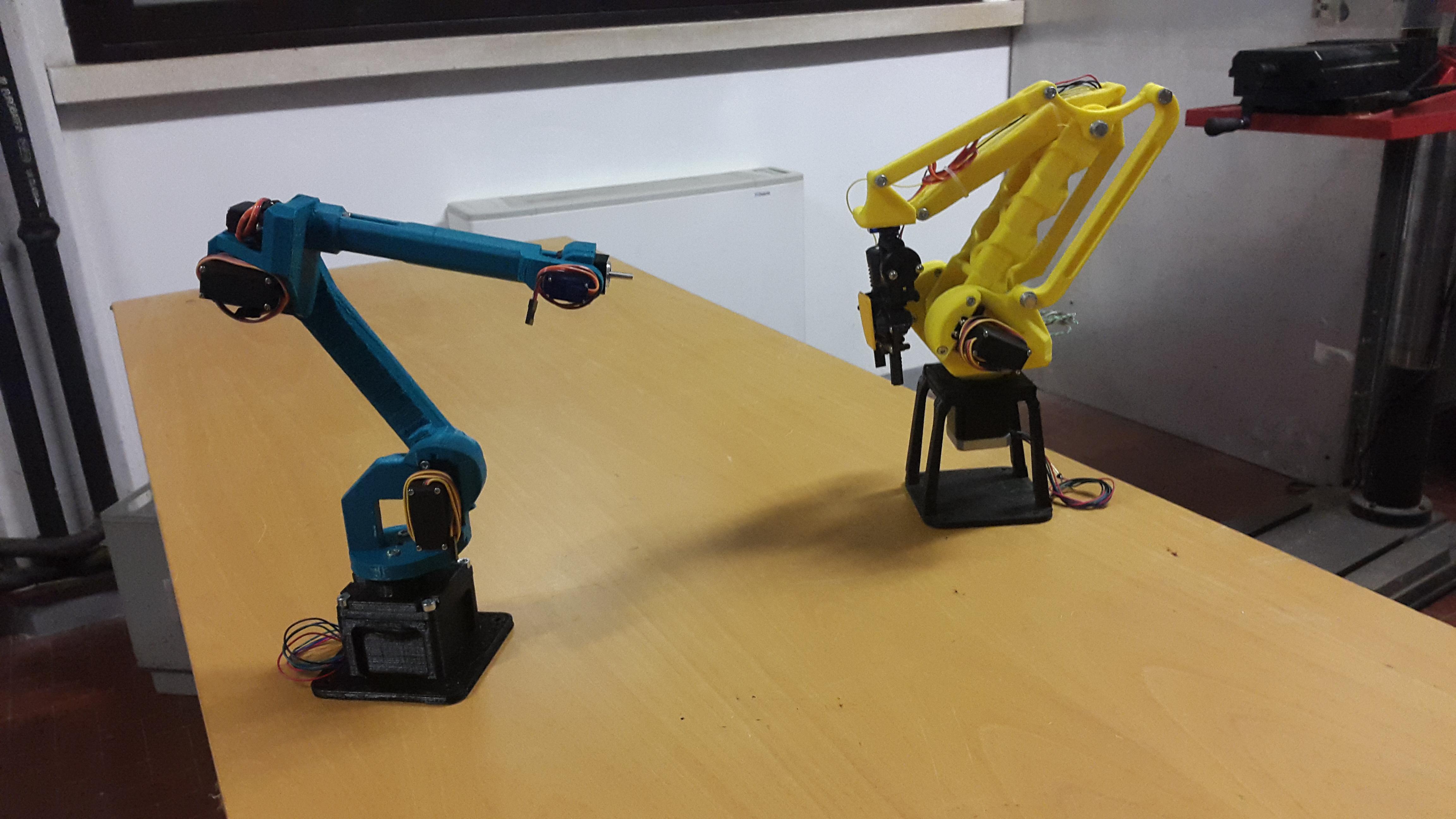 Robot Industriali antropomorfi