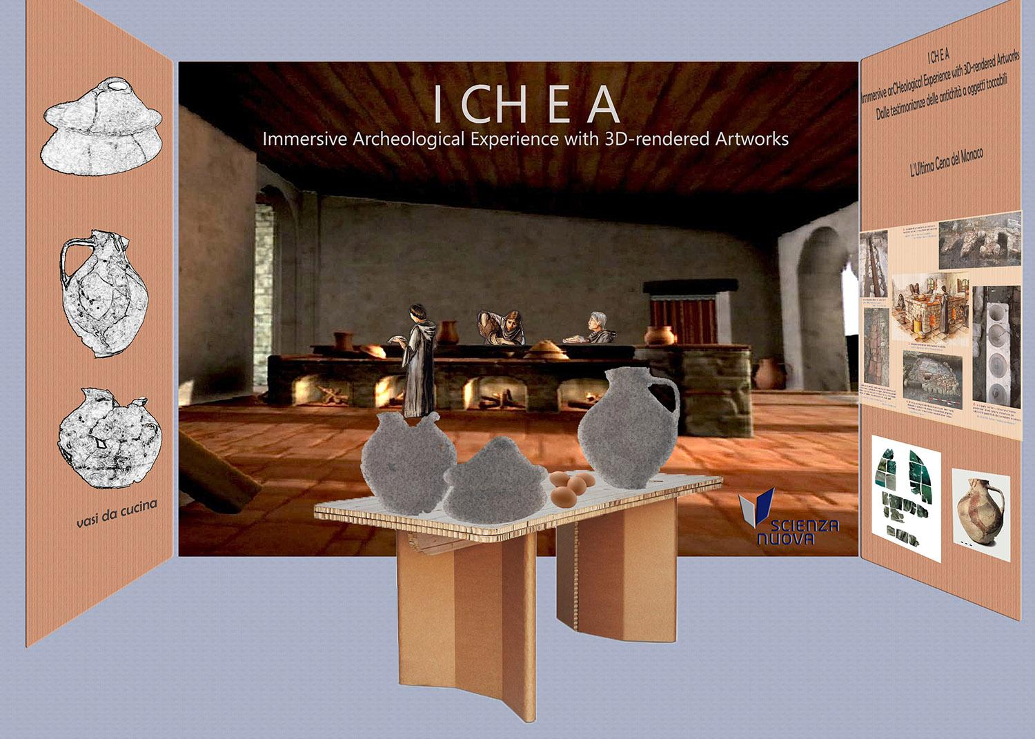 ICHEA - Immersive arCHeological Experience with 3D-rendered Artworks