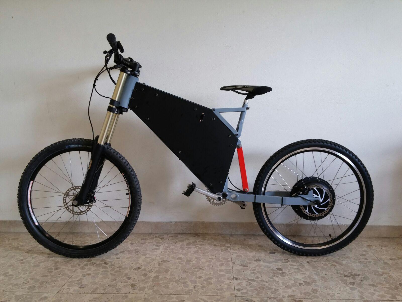 E-E-BIKE (Enduro Electric Bike)