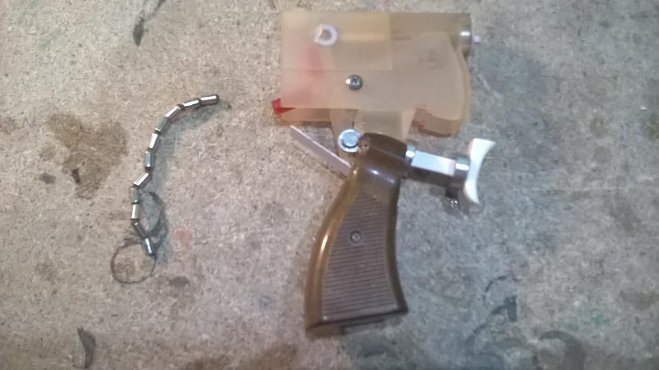 Pistola super magnetica