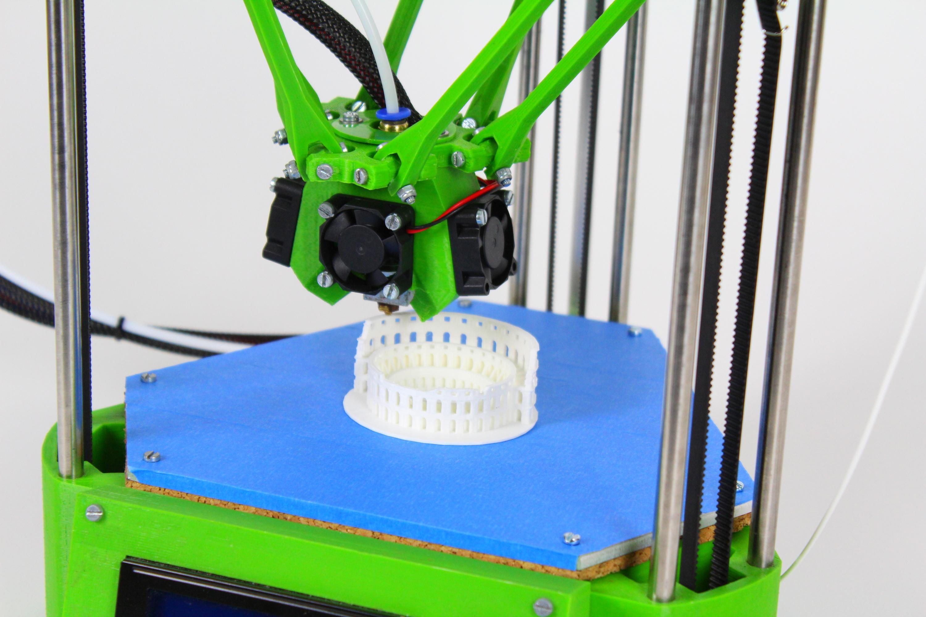 Sculptr Delta, an easy to use and efficient 3D printer for everyone