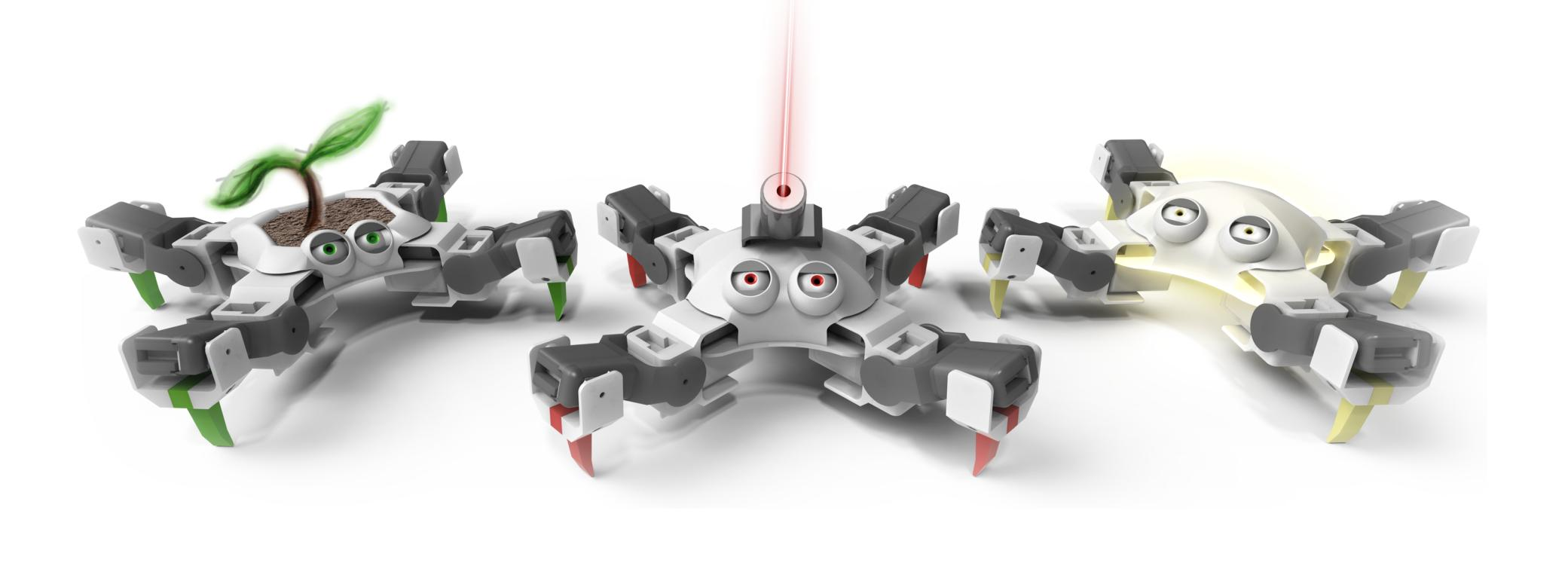 EngiMake QuadBot - Engaging, Open-Source Robot kits