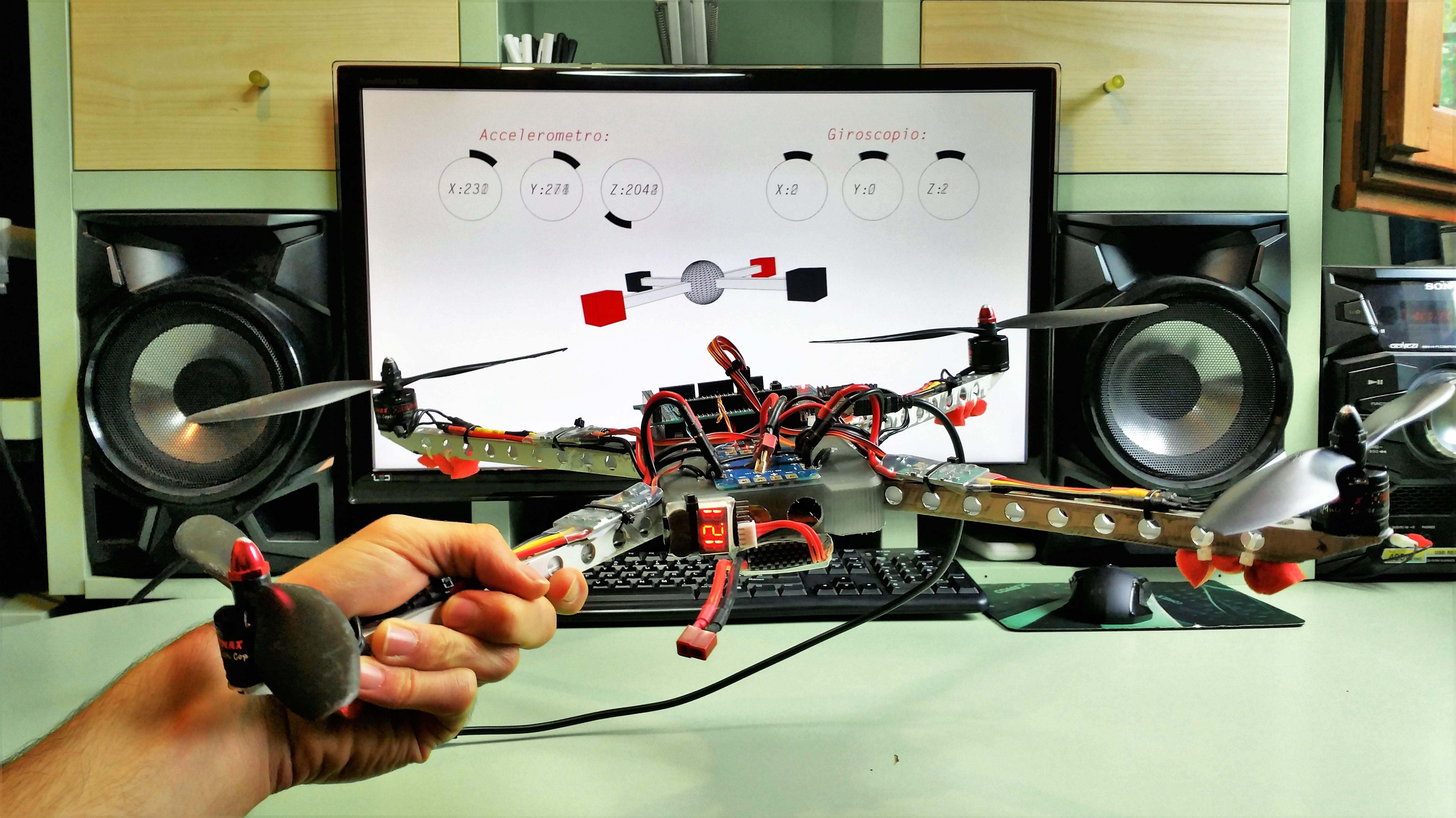 ArmDrone: il drone a portata di mano