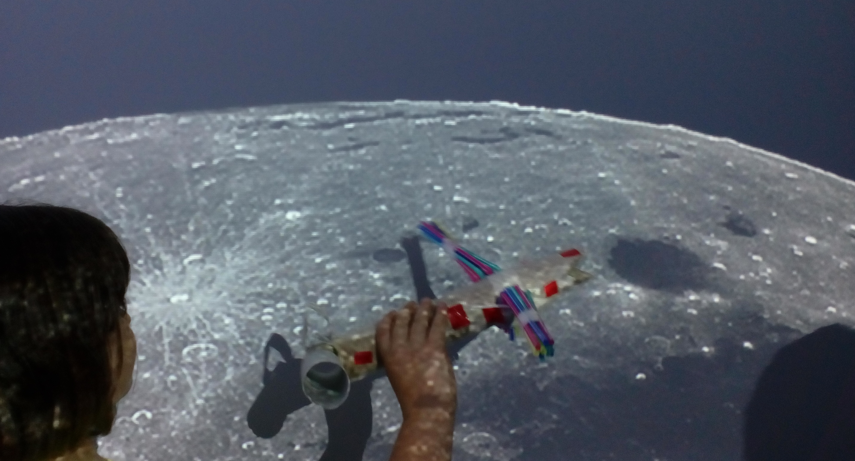 R.M.M.  Reciecled Materials a way to the Moon