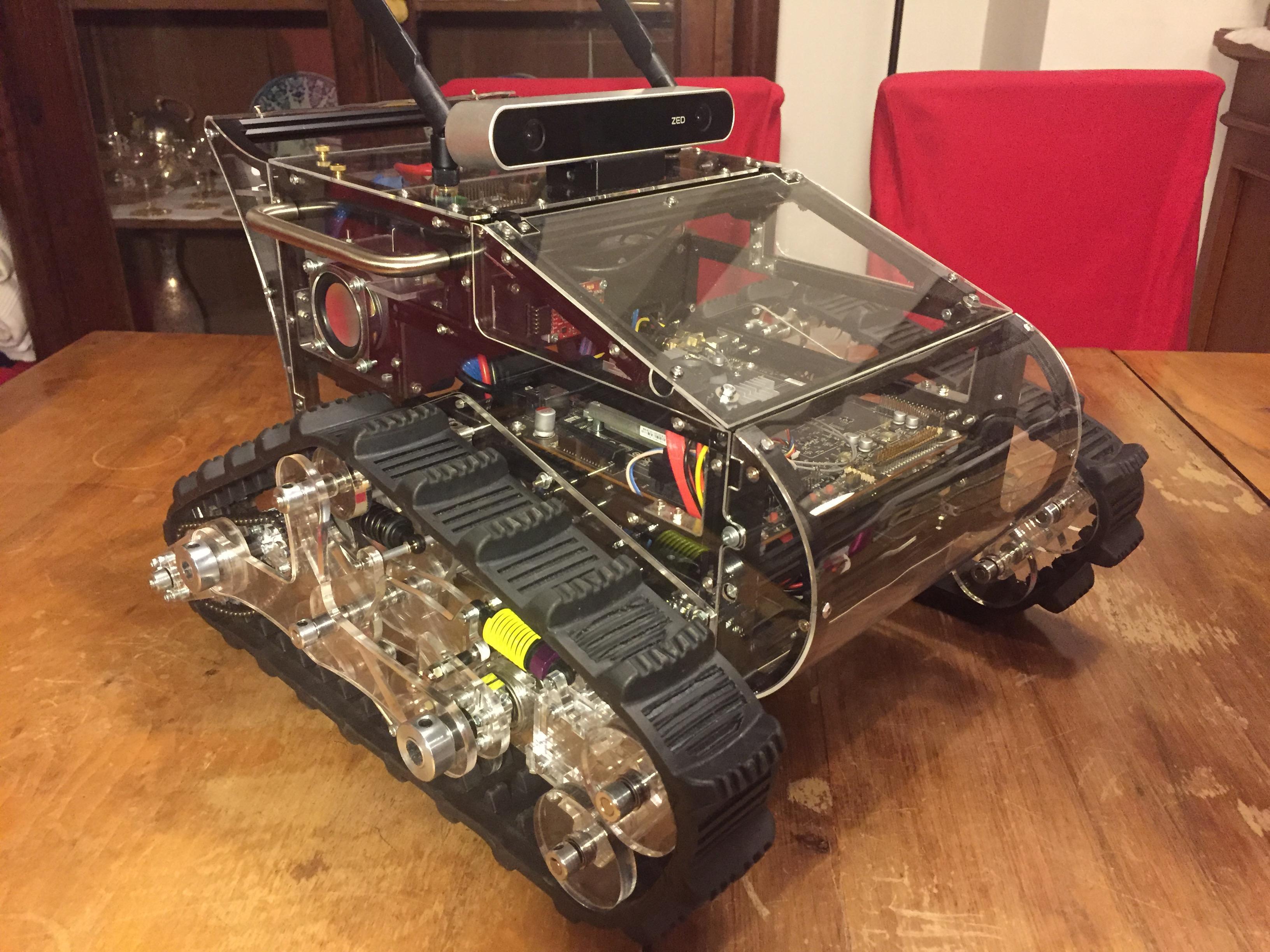 Panther - Powerful Autonomous eNTity High-End Robot