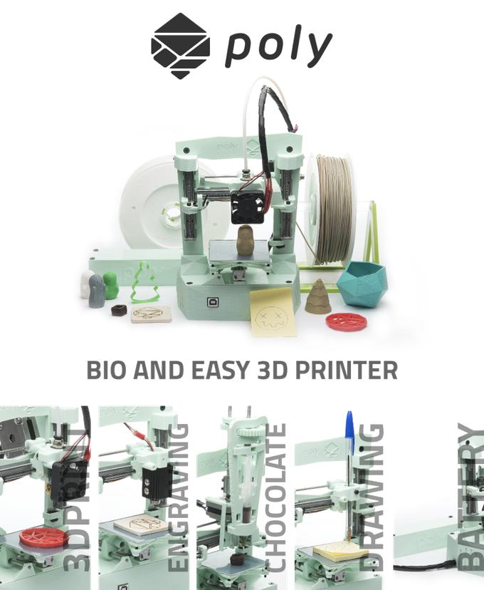 Laboratory Poly 3d printer