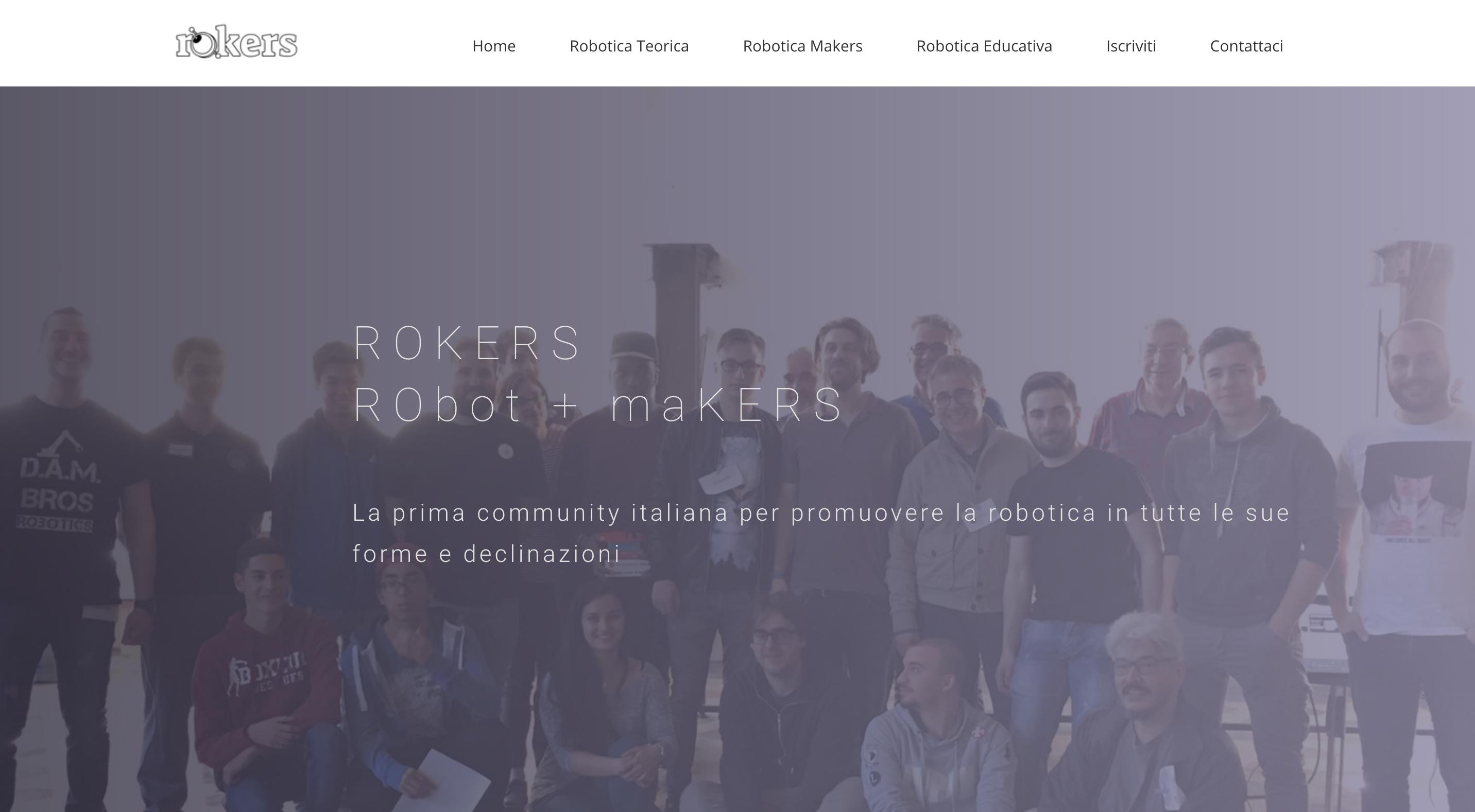 Rokers: la community di robot makers