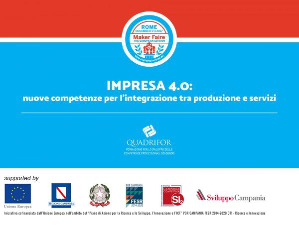 Impresa 4.0: new skills for integration between production and services
