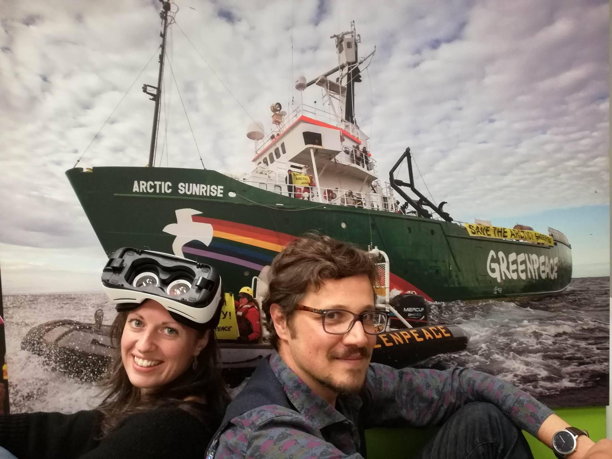 Un viaggio 3D nell'Artico con Greenpeace per difendere il Pianeta