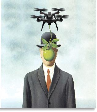 Beauty hunters ... Drones