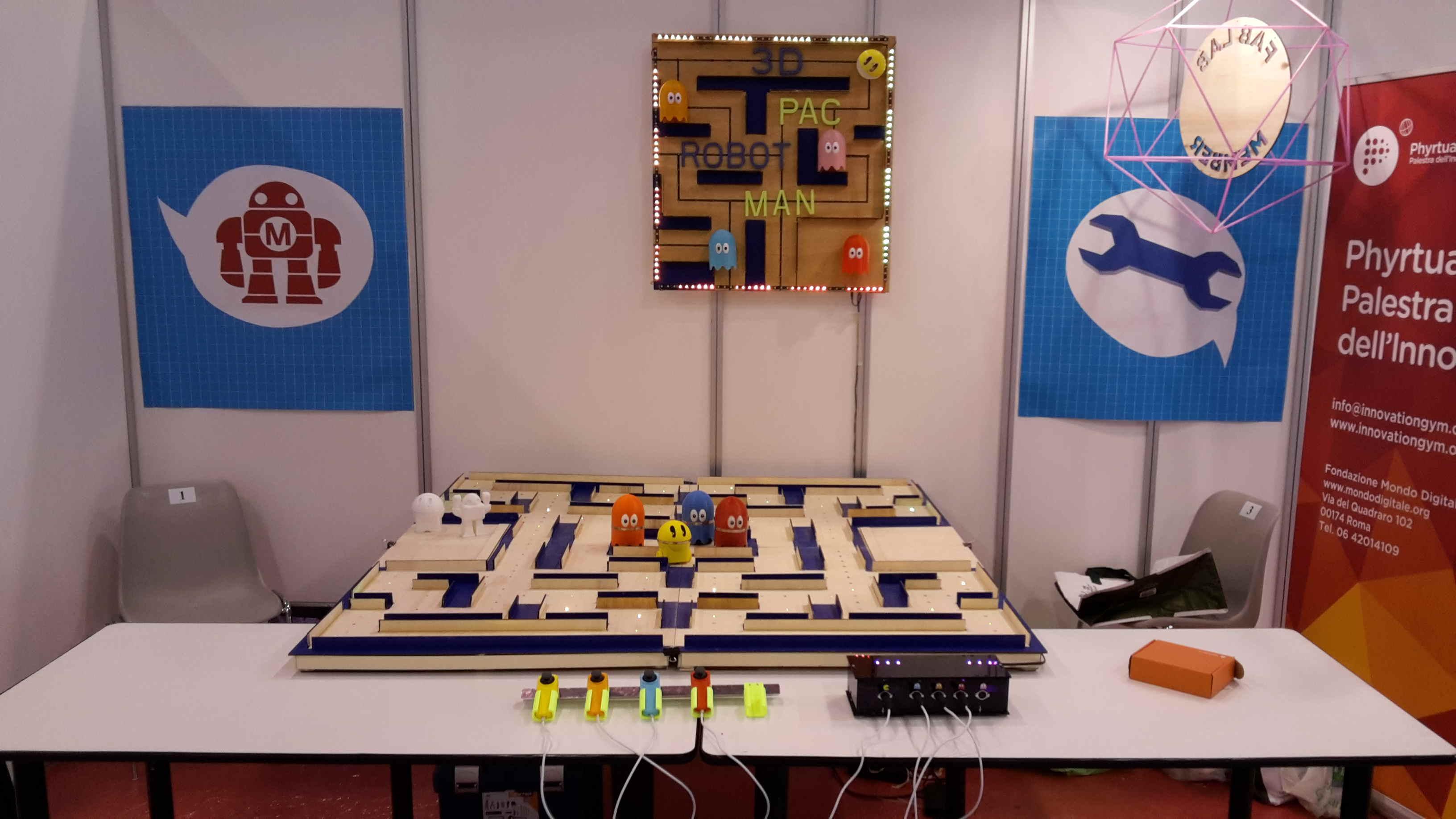 3D PAC ROBOT MAN
