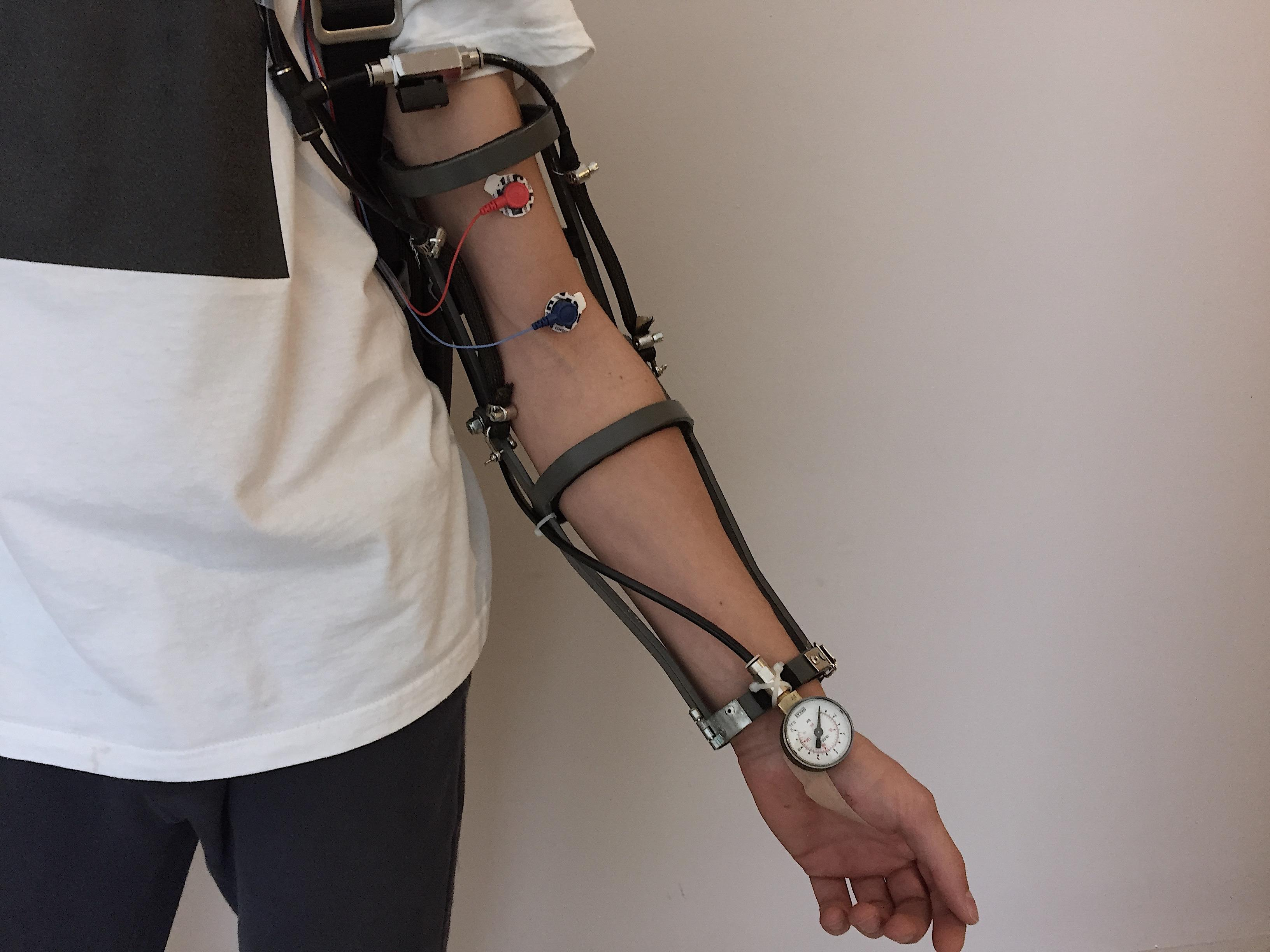 Orion: EMG driven Exoskeleton