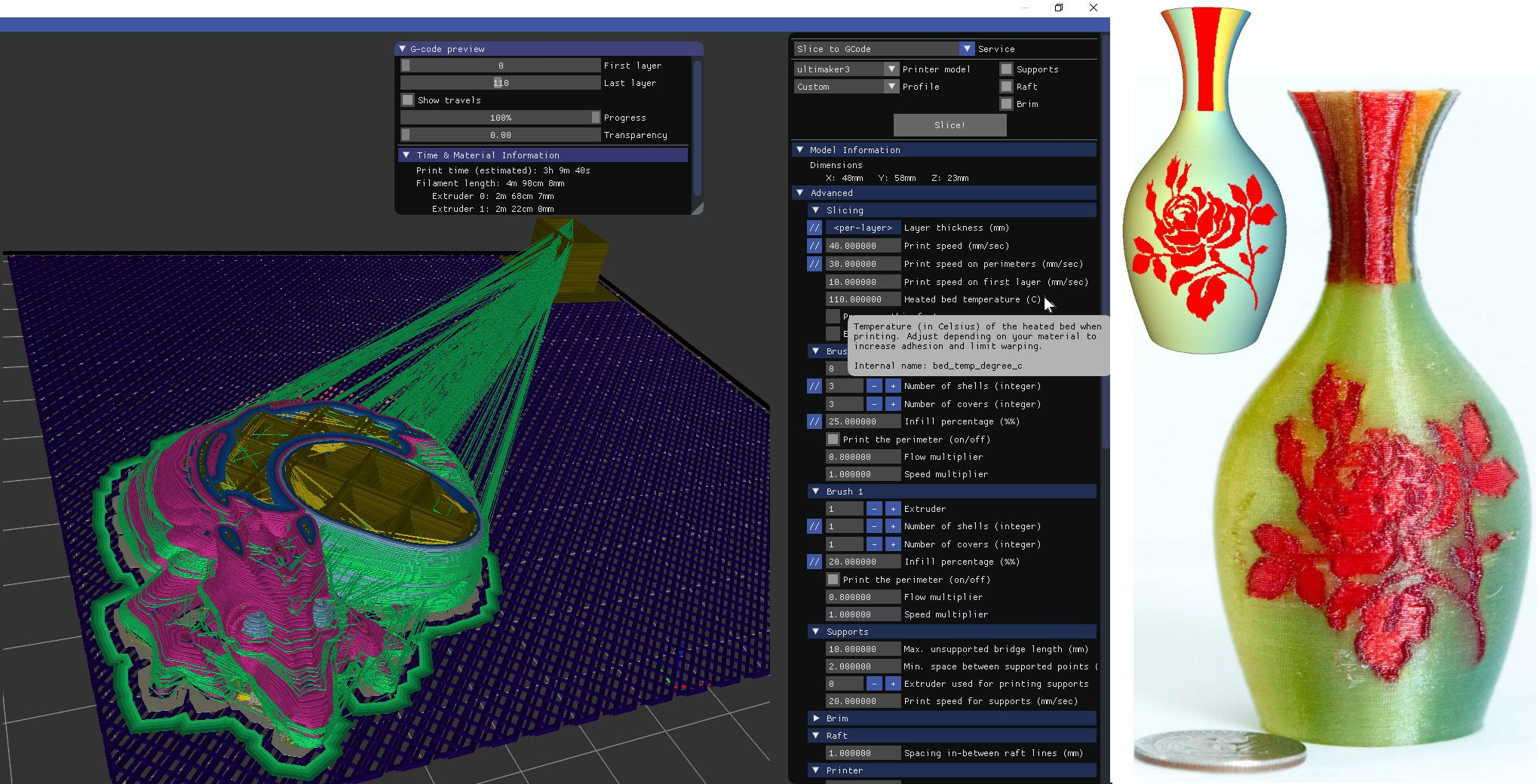 ICESL: ADVANCED MODELING AND SLICING