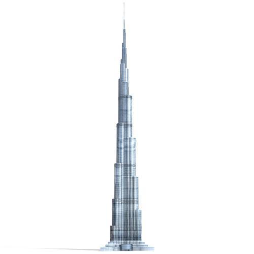 3m Burj Khalifa
