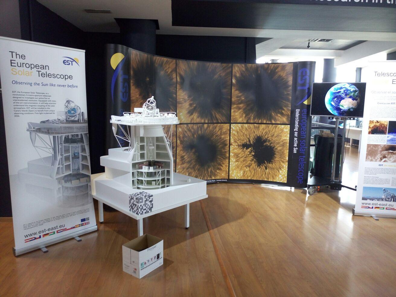 Il Telescopio Solare Europeo: EST