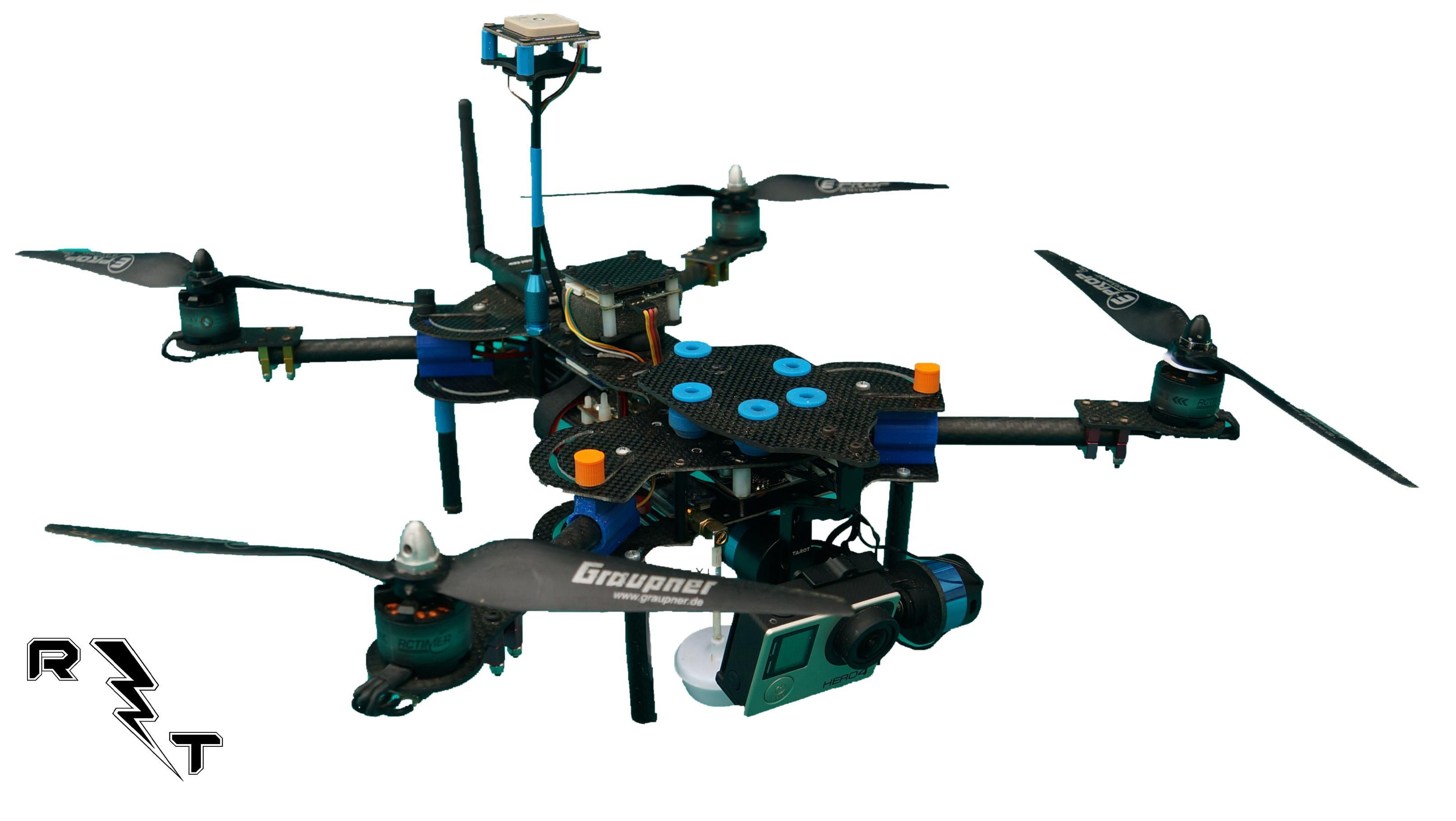 Bushi, il drone richiudibile