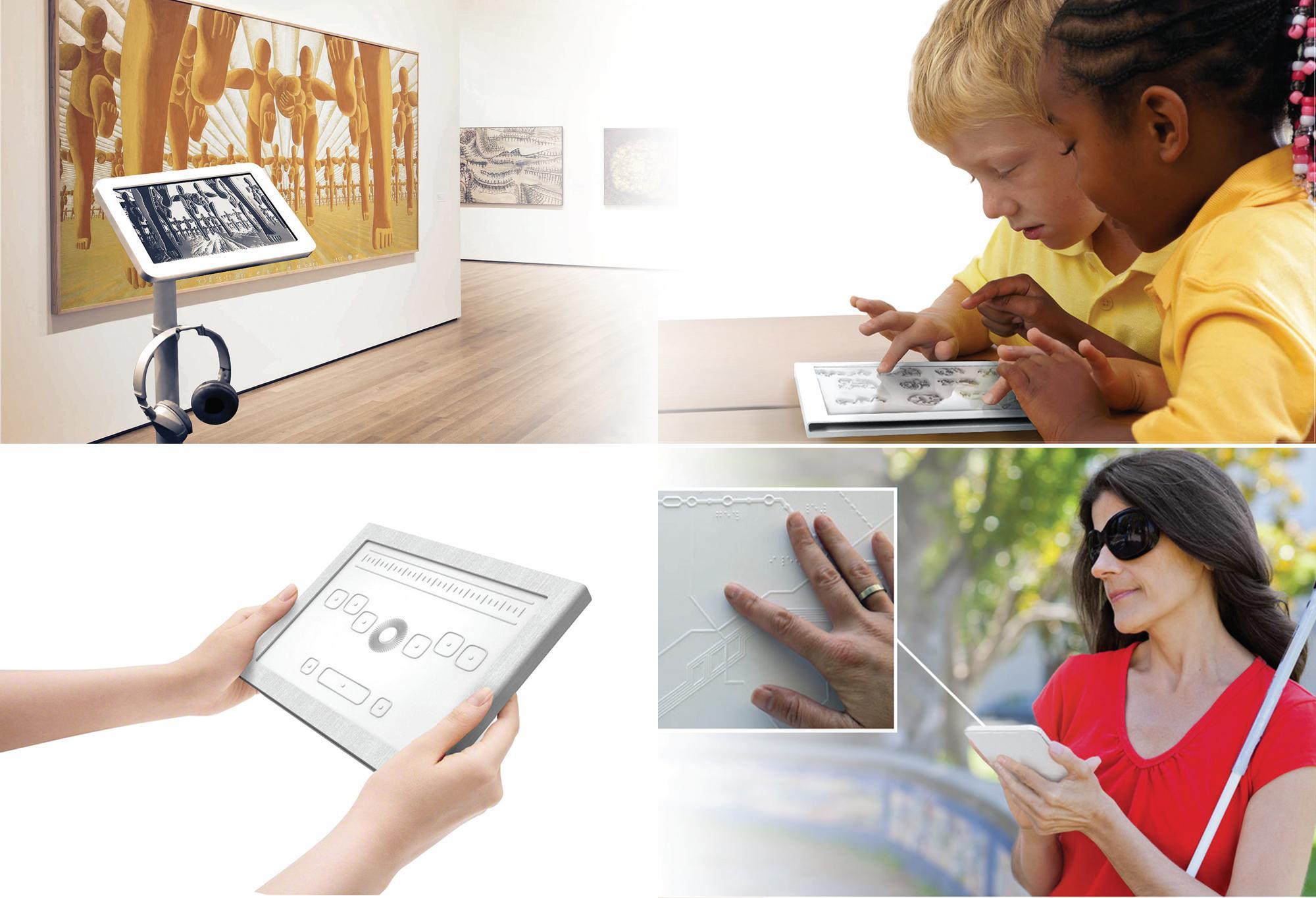 Adeo, migliorare l'usabilità di smartphone e tablet a persone non vedenti