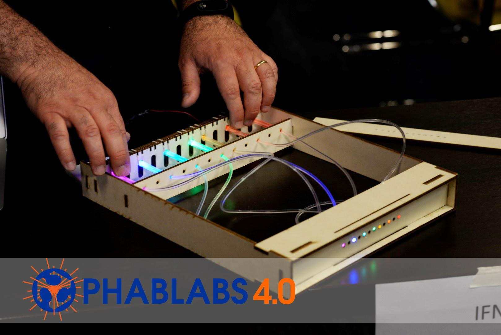 PHABLABS4.0 : Be creative with Light and Light technology.