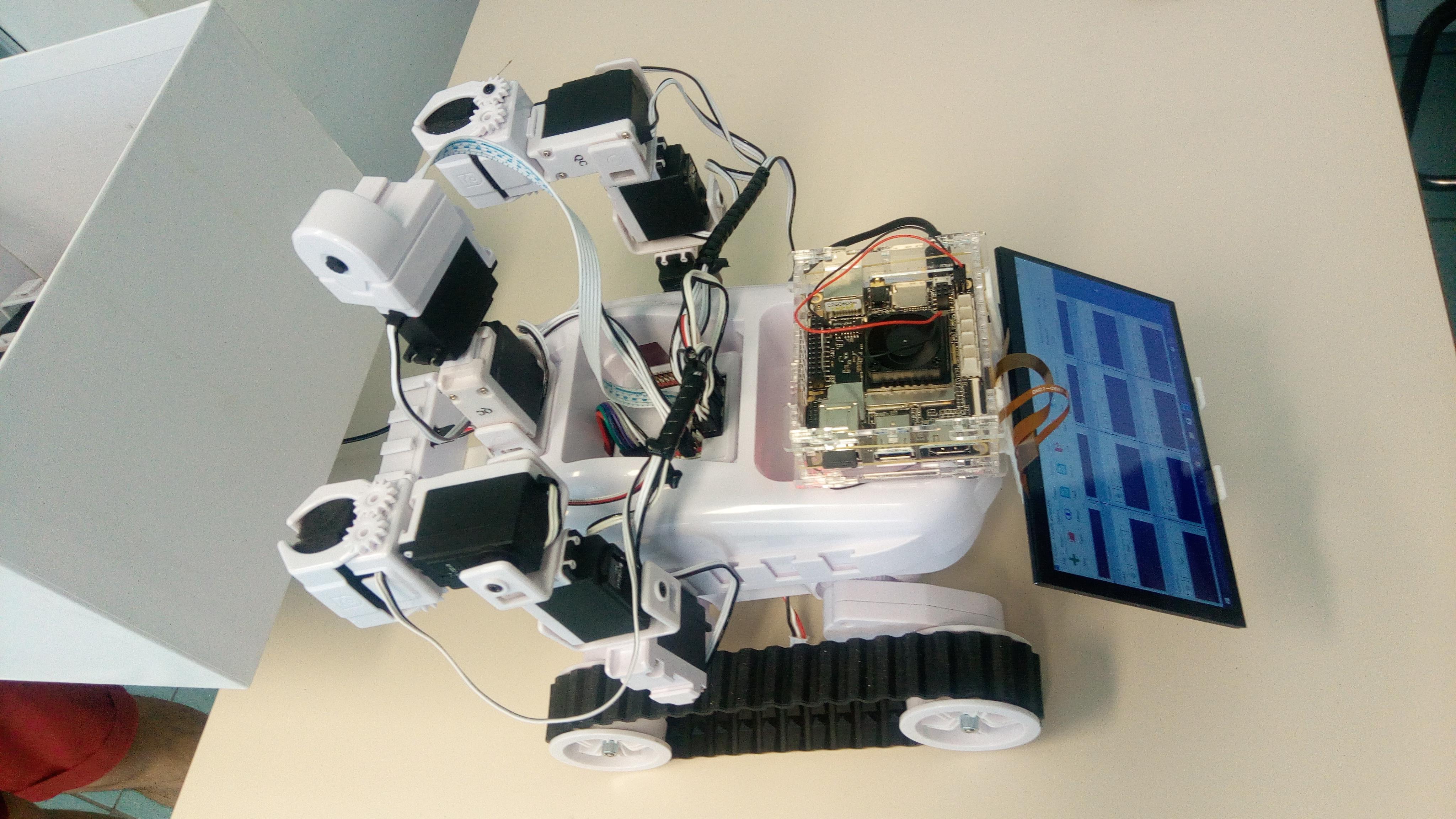 CAESAR AI-ROBOT RESCUE