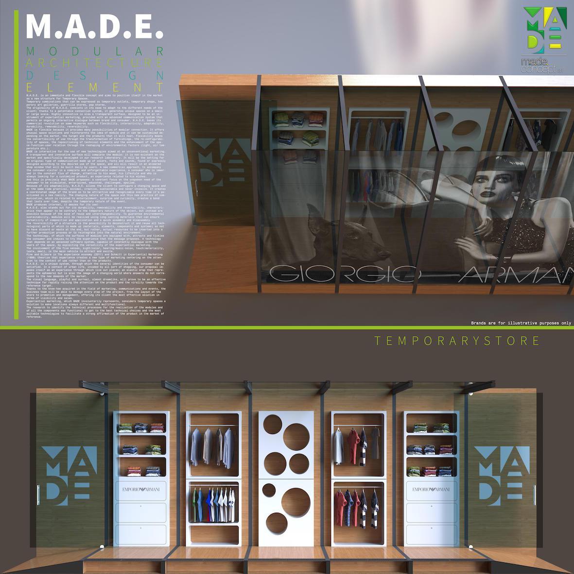 #1M.A.D.E. Modular Architecture Design Element