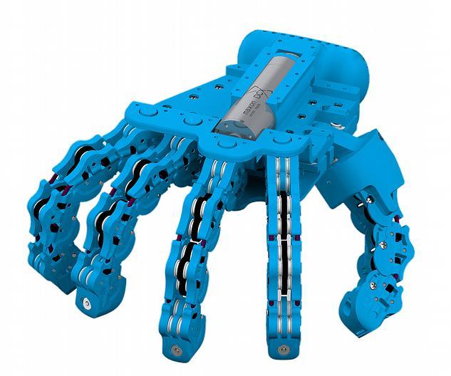 Mano Robotica SoftHand