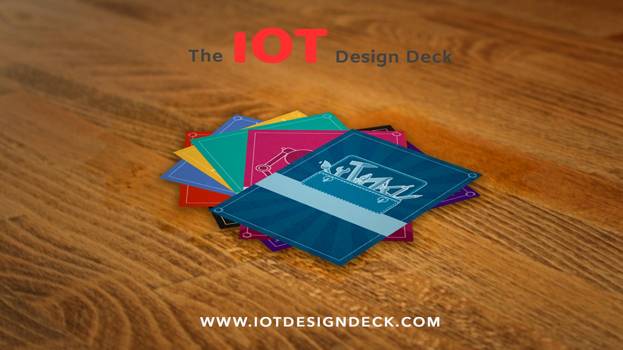 IoT Design Deck - A card game to design the Internet of Things