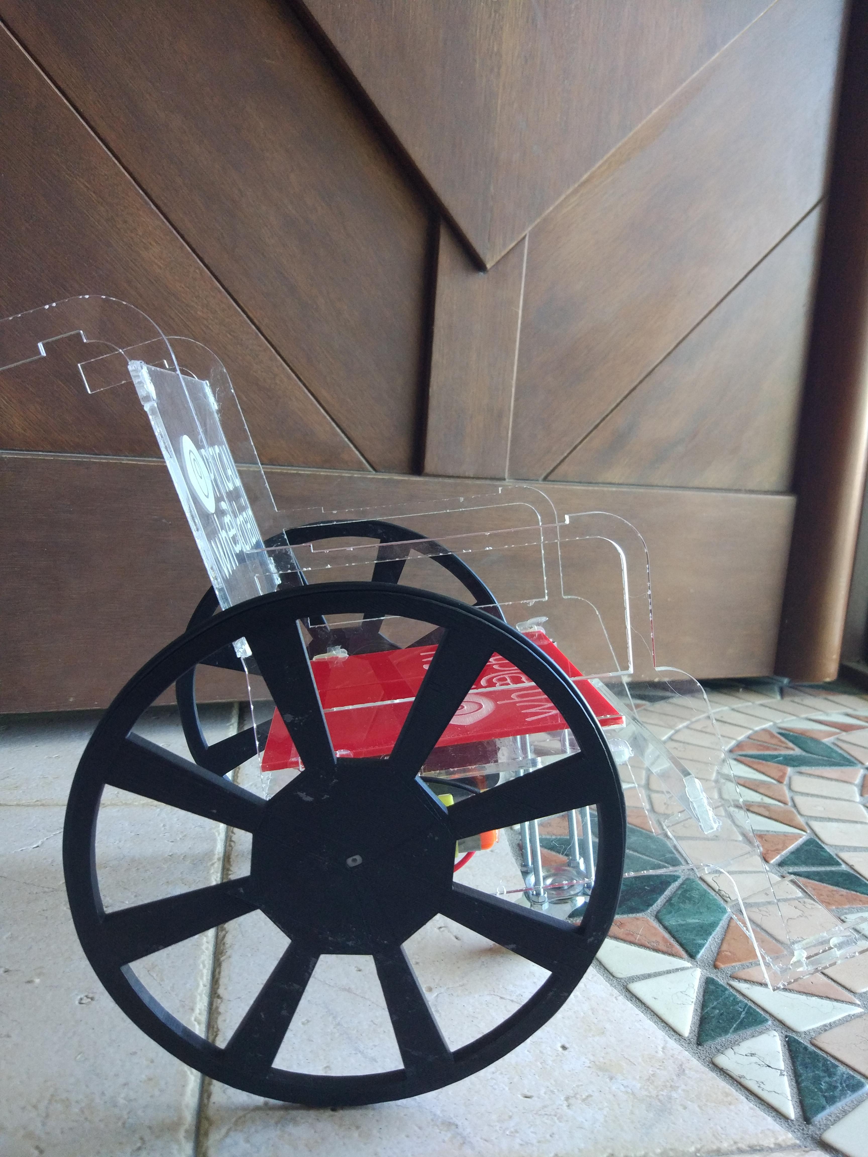 Optical Wheelchair