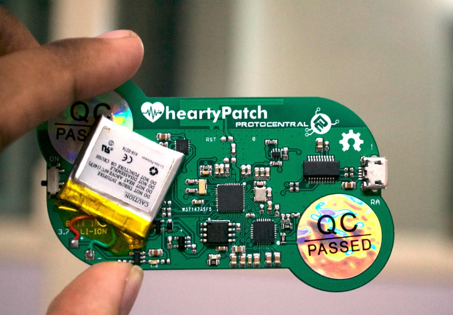 HeartyPatch - an open source, IoT connected, ECG & HRV patch