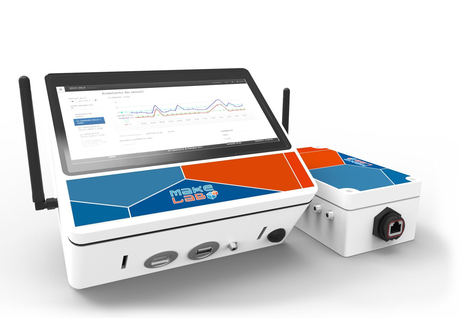 Cold detector - Soluzione per il controllo e il monitoraggio degli ambienti refrigerati