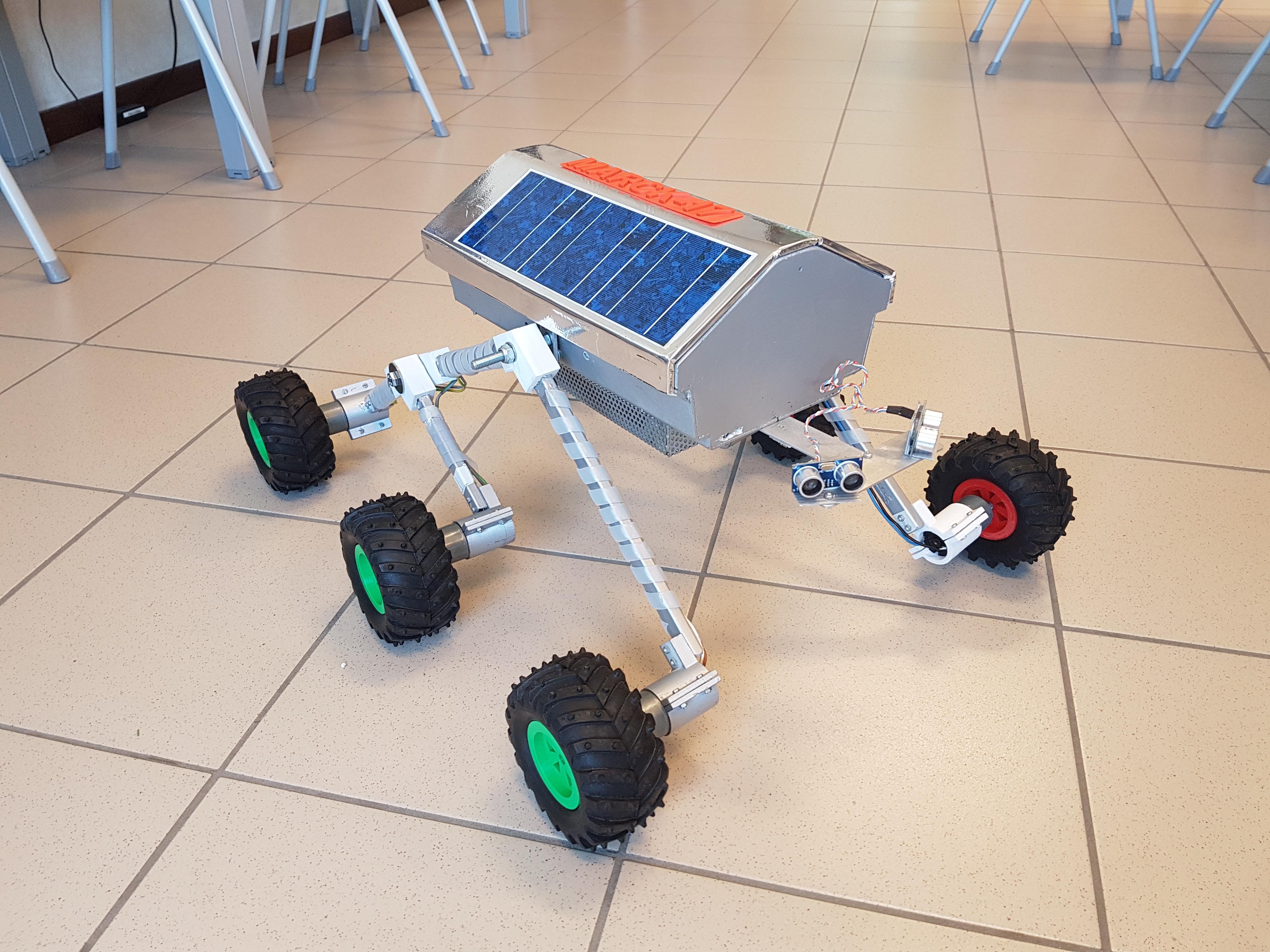 Marck-17 rover da ricognizione