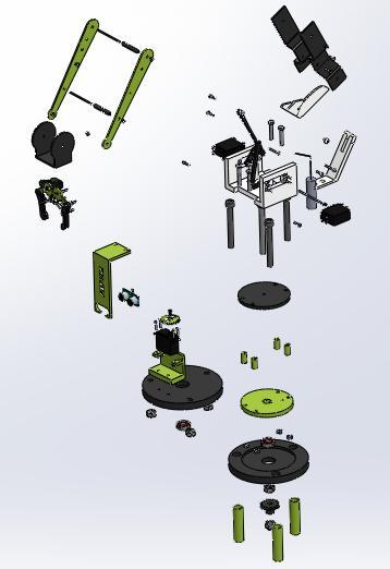 BRACCIO ROBOTICO AUTOMATIZZATO CONTROLLATO CON MICROPROCESSORE