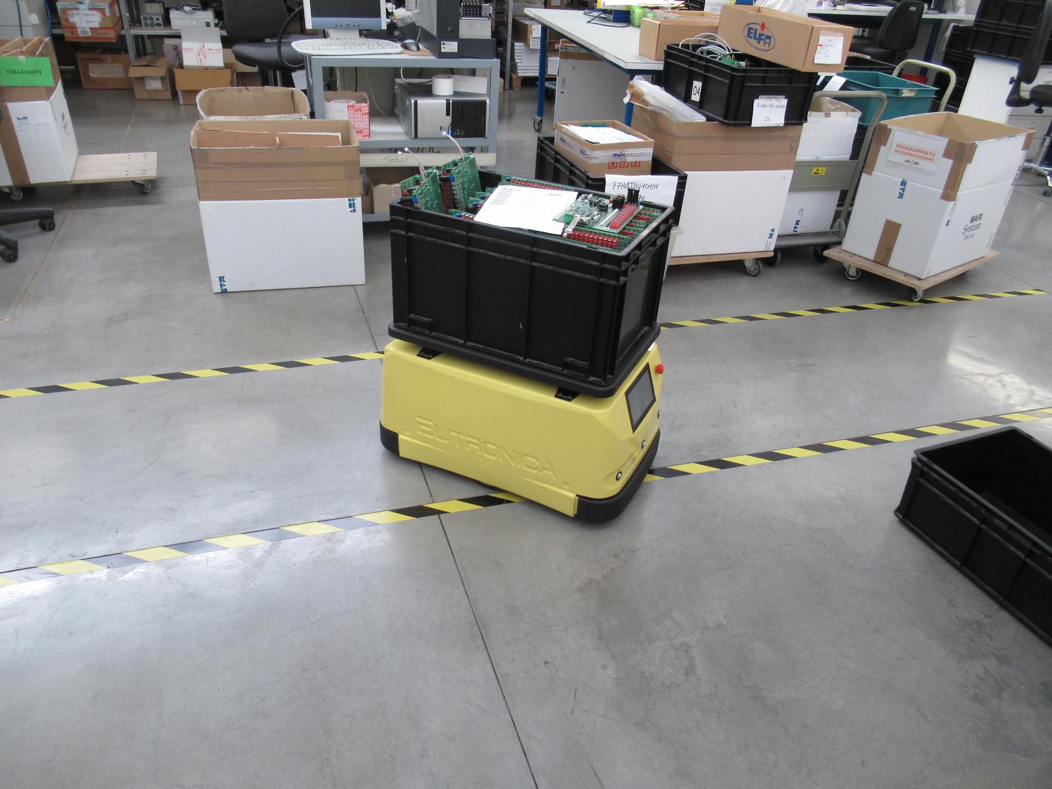 Jobot, il robot per aziende e uffici