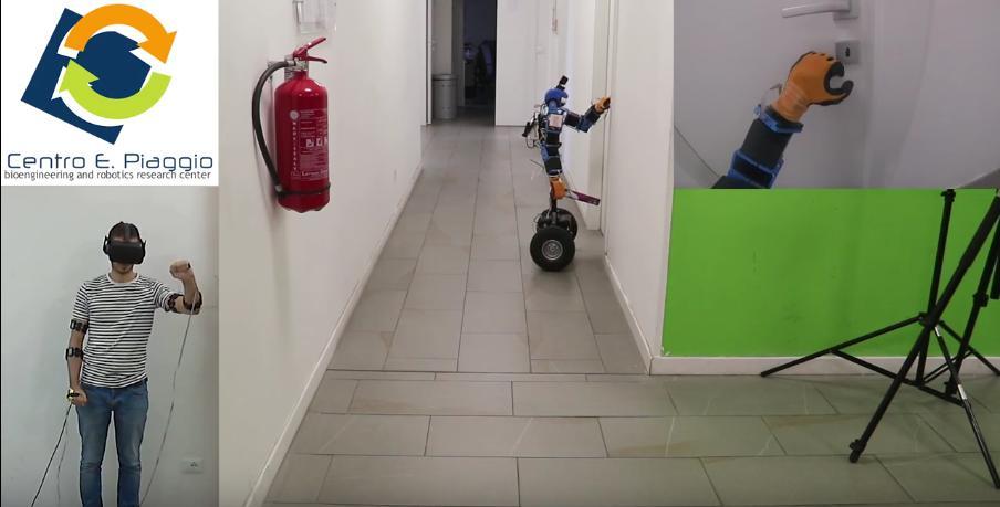 AlterEgo, un avatar robotico per monitoraggio e intervento in ambienti pericolosi