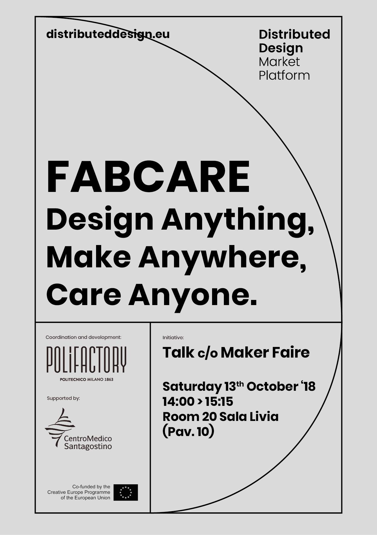 DDMP - FABCARE. Design Anything, Make Anywhere, Care Anyone