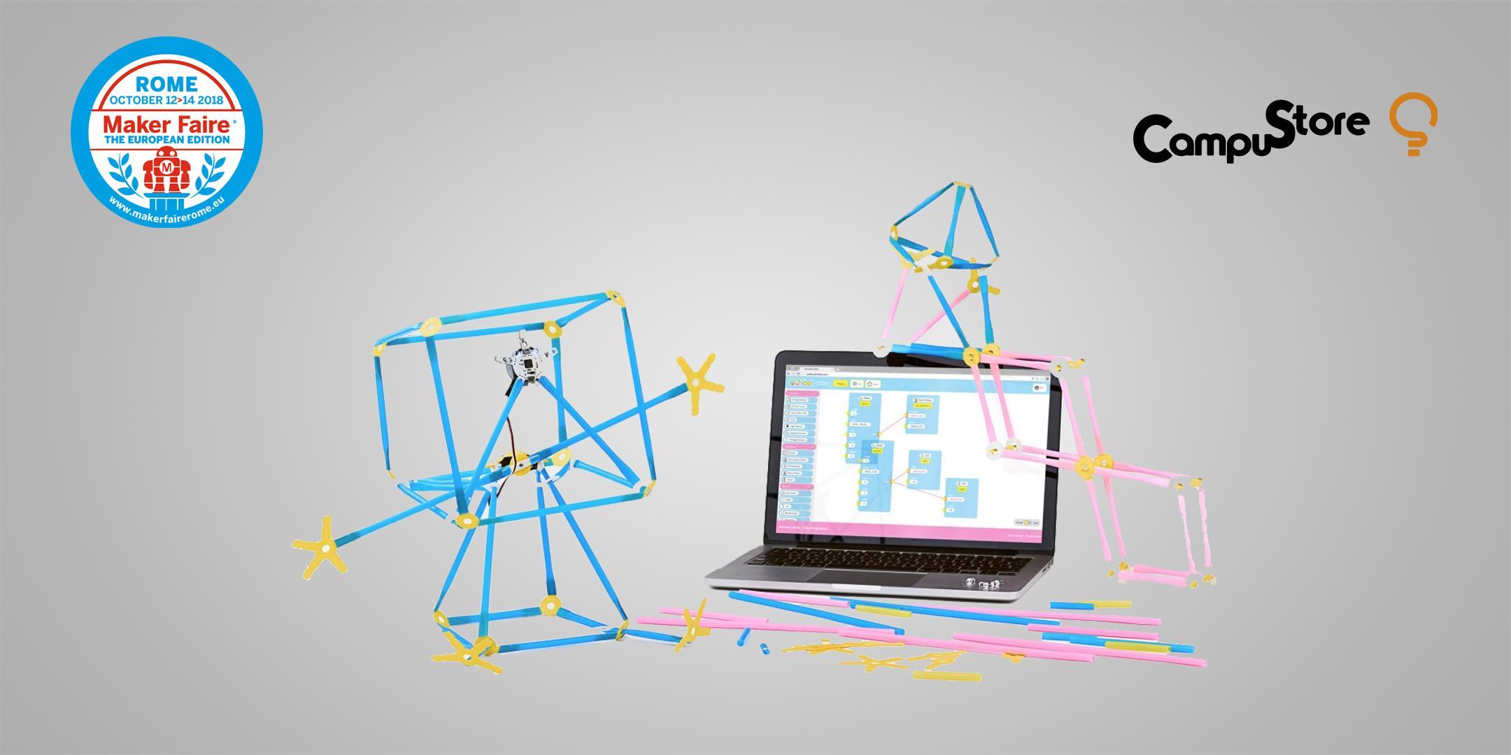 Strawbees e Quirkbot: attività STEAM per studiare il mondo con le cannucce robotiche