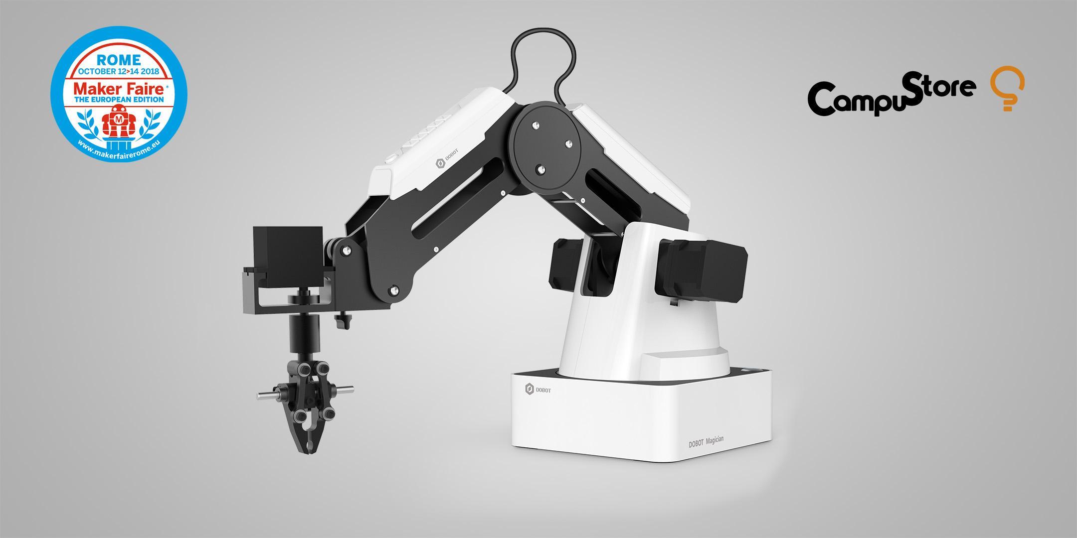Braccio robotico Dobot e Industria 4.0