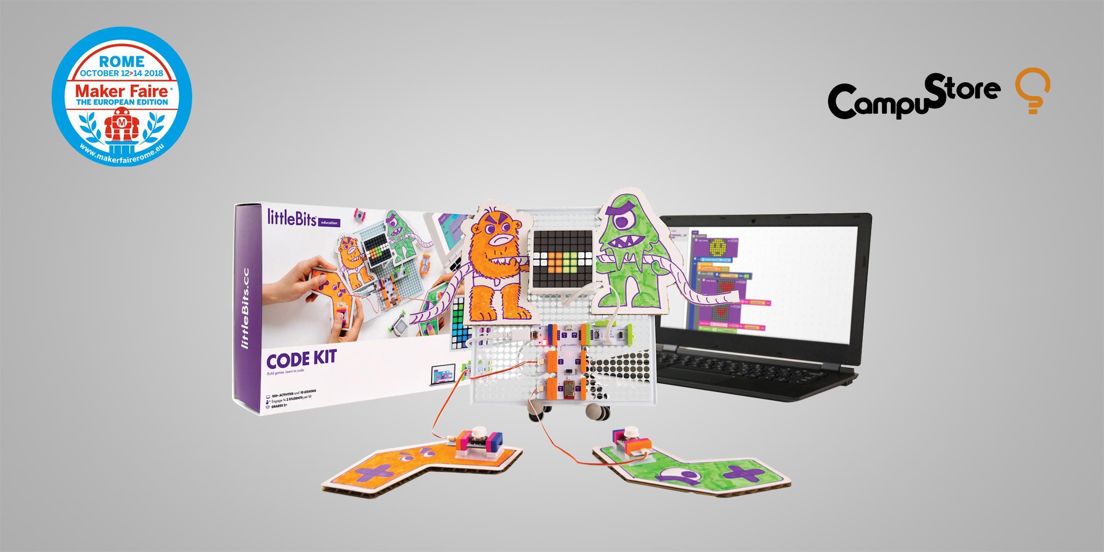 littleBits Code Kit: il fascino magnetico del coding