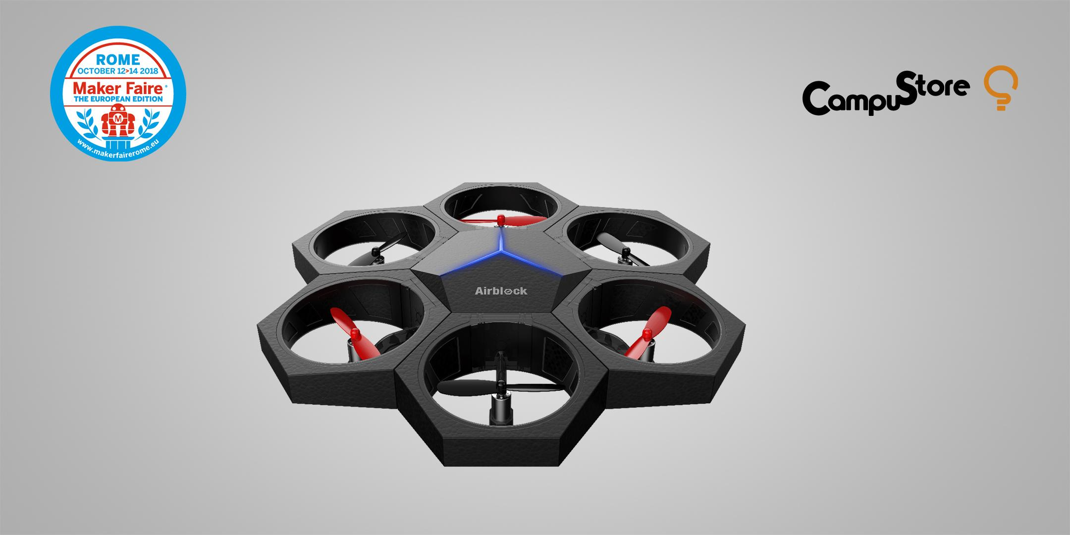 Airblock: alla conquista dell'aria con i droni educativi