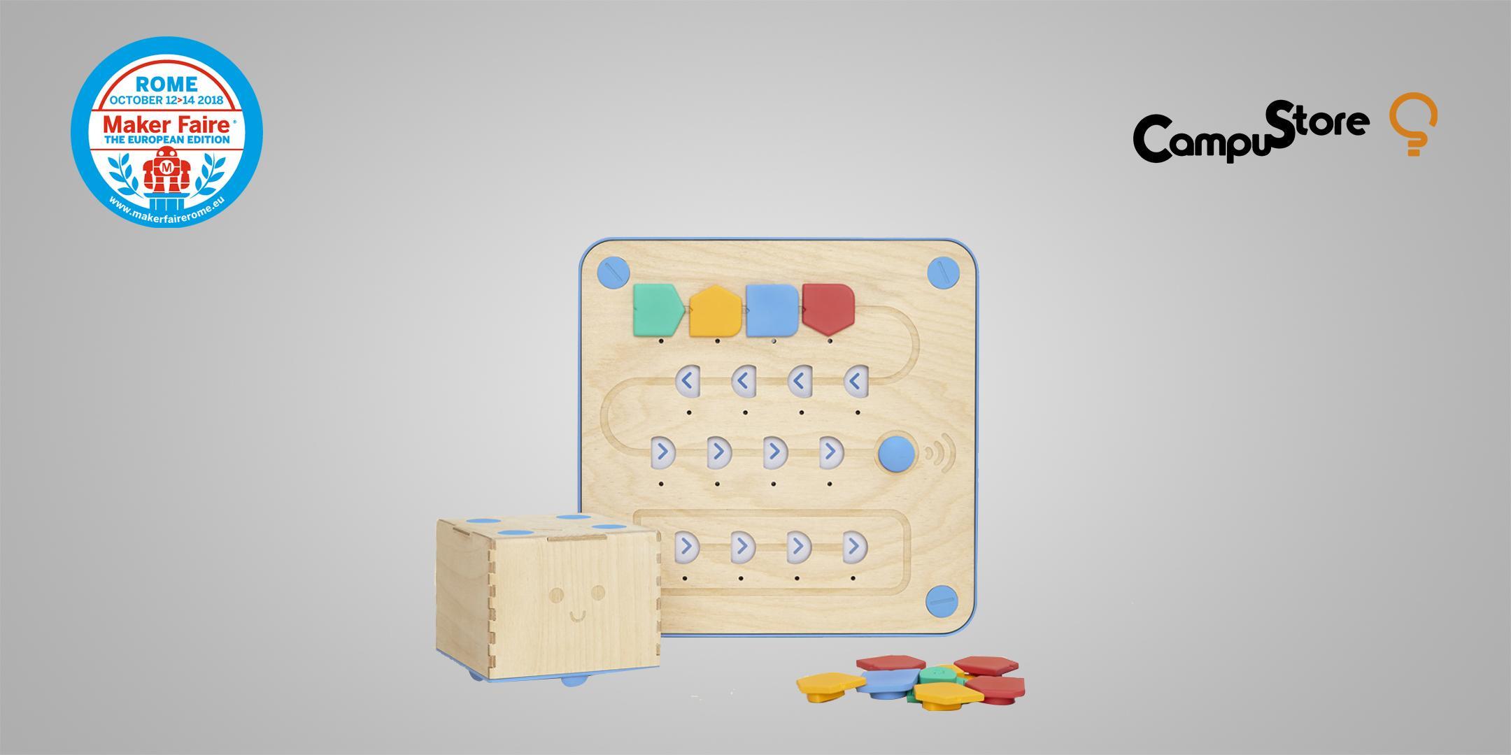 Cubetto: il robot in legno a  programmazione tangibile
