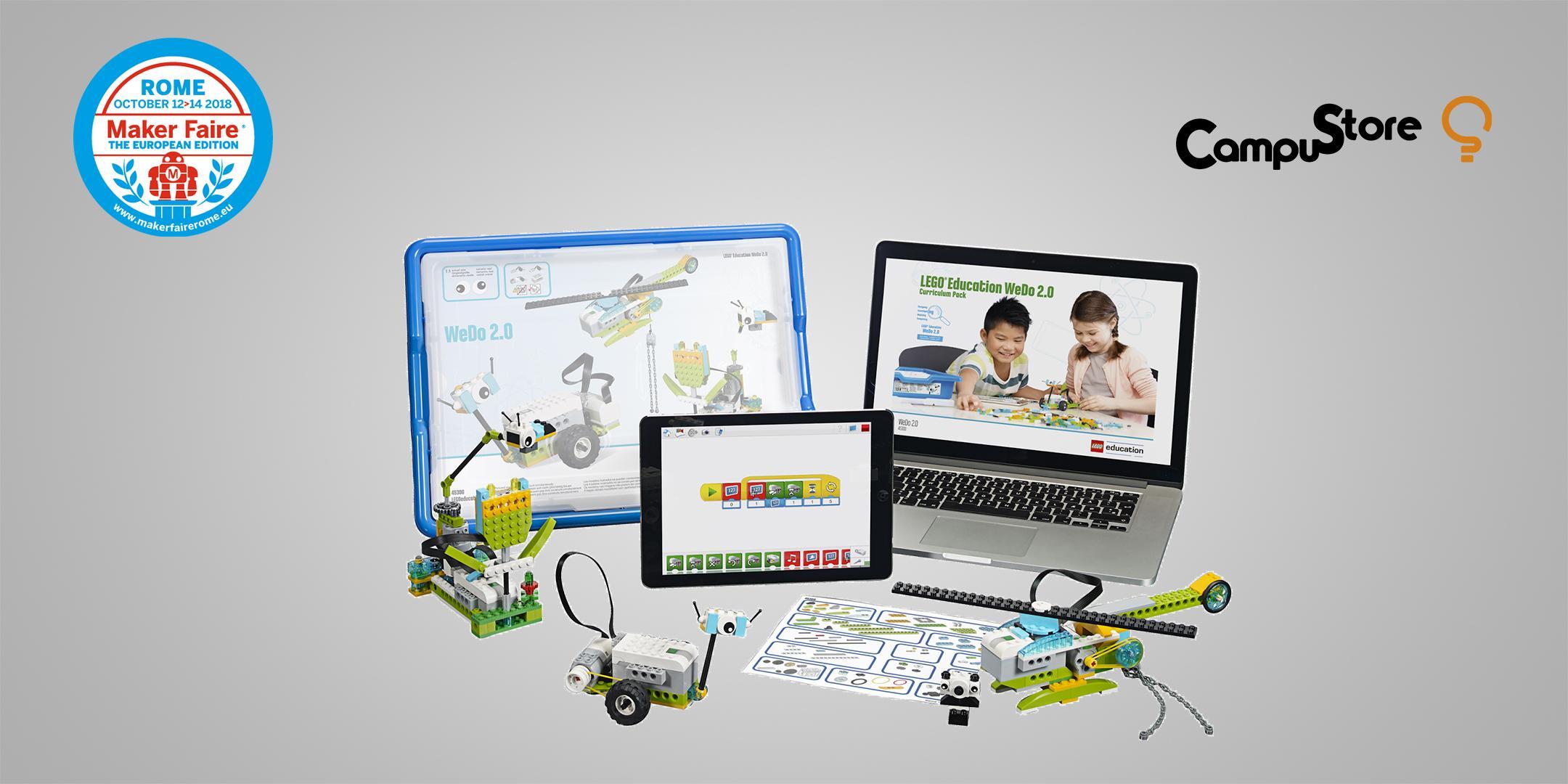 LEGO Education WeDo 2.0: costruire la robotica educativa per la scoperta  delle STEAM