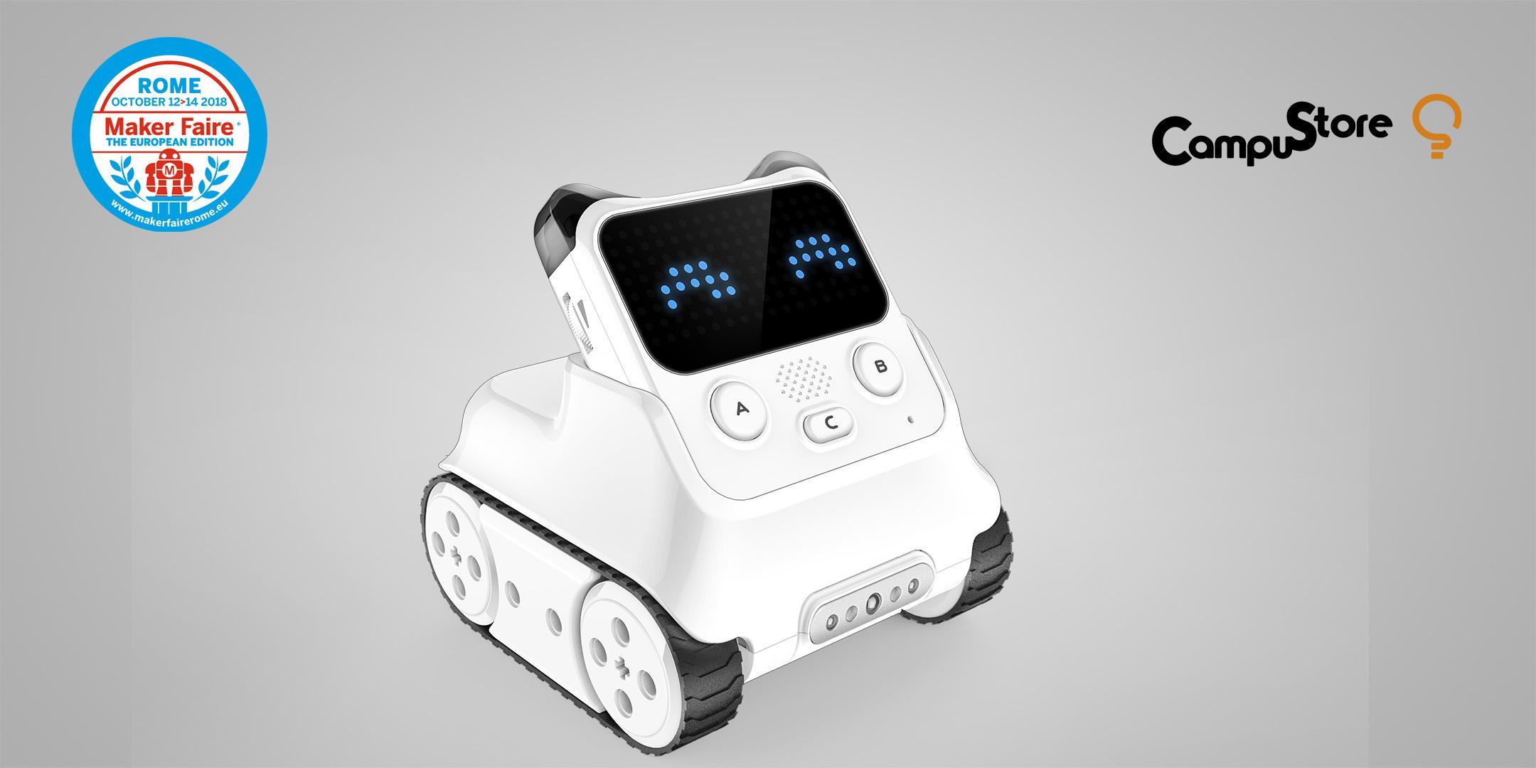 Codey Rocky: AI, IoT e robotica educativa tra blocchi e Python